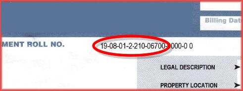 Toronto Property Tax Bill